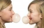 Guma de mestecat- un risc pentru sanatate?