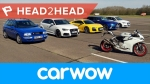 Cursa Auto, a monstrilor mici, Focus RS, Audi RS3, AMG A45, Type R Vs Golf R