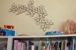 Decorati peretii cu role de hartie