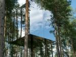 Casa invizibila construita doar din oglinzi